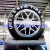 Im Freienausstellung der Reifen-Baumuster-/kundenspezifischer Druck-aufblasbare Gummireifen