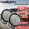 Haute énergie 16000lm 160W DEL Work Light, 8 Inch 160W DEL Driving Light de pièces d'auto