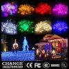 Luz da cintilação da luz da corda do Natal do diodo emissor de luz
