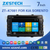 Factory Direct DVD Voiture radio GPS pour Kia Sorento (ZT7081-K)