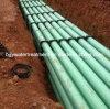 Tubo del vidrio de fibra del tubo de la protección del cable de FRP