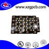 Placa de circuito doble de la PCB echada a un lado con la galjanoplastia de oro 20 Microinch