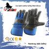 暗い革靴の家具の革手の安全産業作業手袋