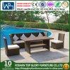 Im Freien einzelnes Sofa/Rattan-einzelnes Sofa/Weidensofa mit Kissen (TG-JW59)