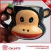 Tasse en céramique du dessin animé le plus neuf avec la forme animale