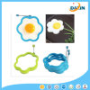 Прессформа яичницы силикона формы цветка