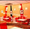 Corian 대중음식점 식탁 세트