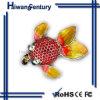 disc dorato di memoria del USB dei monili dei pesci 2GB (HWSJ-EY0032)