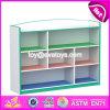 Los niños de alta calidad de almacenamiento de juguetes de madera de Muebles Muebles de hogar W08c212