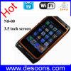 Teléfono móvil de WiFi TV Java con las tarjetas duales de SIM con Bulgaria checa holandesa (N8-00)