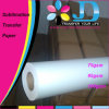 Tacky superbe 100g Dye Sublimation Paper pour Sportswear Printing