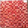 Rote Steinmosaik-Mischungs-Glasmosaik-Fliese (HGM360)