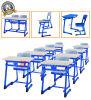 Bureau de double d'étudiant de qualité et chaise en bois (SF-32D)