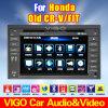 ホンダの適当なジャズのための車DVD無線GPSは遊ぶ(VHF6019)