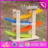 Nieuw Ontwerp 4 Speelgoed van de Helling van de Auto van de Jonge geitjes van het Speelgoed van Niveaus het Grappige Houten voor de Auto's W04e048 van het Stuk speelgoed
