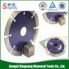 4 pol de espessura da lâmina de serra de diamante do Turbo para telhas