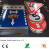 Custom Made Reflective Sheeting Circle Alumínio Road Warning Sign Road Traffic Safety Signs