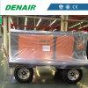 De militaire Industrie gebruikte de Diesel Mobiele Beweegbare Roterende Compressor van de Lucht van de Schroef