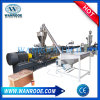 Het Plastiek die van de Machine van de Uitdrijving van de Vlokken van het Huisdier van de Fabriek van China Pelletiserend Lijn recycleren