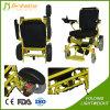 Кресло-коляска облегченной силы алюминиевого сплава электрическая с емкостью нагрузки 180kg мотора 250W