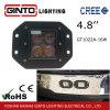 luz cuadrada del trabajo de 4D 4.8 '' LED para toda la luz del vehículo del coche ex (GT1022-16W)