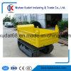 1000kgs de Kruiwagen Kd1000 van de Macht van het Spoor van de vierwielige Aandrijving