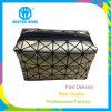 女性金柔らかい ダイヤモンドPUの化粧品袋