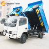 Dongfeng 5toneladas pequena luz Mini Dumper Caminhão de Despejo de caixa basculante