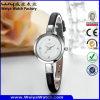Wristwatch повелительниц кварца кожаный планки способа ODM вскользь (Wy-074A)