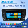 Video dell'automobile DVD GPS di Zestech per Audi A3/S3