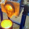 Media Frecuencia el calentamiento por inducción horno de fundición de cobre/aluminio/acero/hierro 3-200 kg.