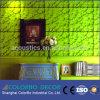 Panneau de mur acoustique décoratif de polyester matériel d'insonorisation
