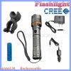 Lanterna elétrica da autodefesa do diodo emissor de luz do CREE da modalidade do zoom T6 4000lm 5