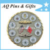 3D Military Challenge Coin mit Gold + Nickel Plating