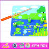 Magnetismo 2015 Catch Frogs Toys per Kids, Magnetic Toy Fishing Game Toys per Children, Funny Play 3D Fish Frogs Wholesale Wj276035