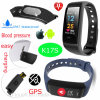 心拍数および血圧K17sの新しく多彩なスクリーンの適性のブレスレット
