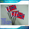 14X21cm Polyester nous Confederate Rebel Hand Flags