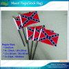 14x21cm nous Polyester Confederate rebelle drapeaux à main
