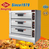 Het beste verkoopt Grote Capaciteit 3 Dek 9 Oven van de Pizza van Dienbladen de Commerciële