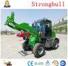 Zl10 Mini carregadora de rodas de equipamento de construção