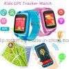 Het draagbare Sos GPS van de Jonge geitjes van de Veiligheid Horloge van de Drijver met de Groef van de Kaart SIM D26c