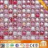 Het Mozaïek van het glas, Roze Kleur, Verglaasde Glans (L1425002)