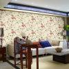 Pvc Deep Embossed Wallpaper met Floral