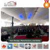 Struttura semi permanente della tenda delle 5000 genti per la chiesa a Harare