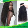 Malaysische Jungfrau-Haar-Extension, verworrenes lockiges Remy Menschenhaar