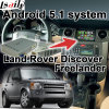 Android 5.1 Cuadro de navegación GPS para Land Rover Range Rover etc Video Interface con pantalla de Youtube Waze Gvif Cast