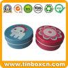 De Verpakking van de Doos van het Tin van het voedsel voor het Ronde Kleine MiniTin van het Metaal