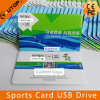 Mecanismo impulsor promocional del flash del USB de la tarjeta video de los Juegos Olímpicos (YT-3101)
