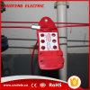 Bloqueio de cabo de segurança ajustável de segurança econômica com 2 metros
