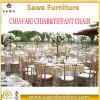 Het Hotel die van het restaurant Stoel Chiavari stapelen van het Huwelijk van het Metaal de In het groot
